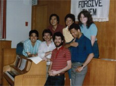 Champaign committee or small group of some sort - 1984