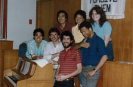 Champaign committee or small group of some sort – 1984