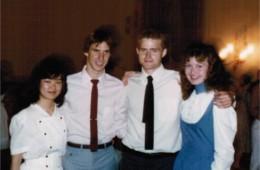 Bill Scheid, Tom Goelzer, Anne Bodmer – 1984 dance