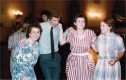 Amy Lash, Curt Odo, Jeanette Baker - 1984 Dance