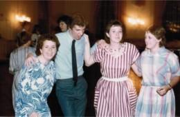 Amy Lash, Curt Odo, Jeanette Baker – 1984 Dance
