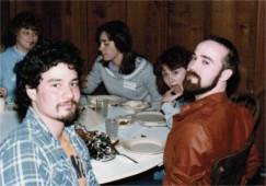 Jonathan Nambu, Alan Young, and others - retreat '84
