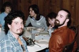 Jonathan Nambu, Alan Young, and others – retreat '84