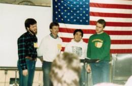 Champaign quartet – retreat '84