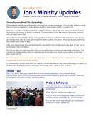 Jon Fall Newsletter 2013