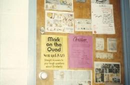 Typical dorm door advertising 1992-93
