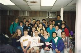PAR representing at Fall Retreat 1992-93