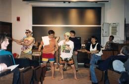 Having Fun at Urbana Chapter Praise Night 1994
